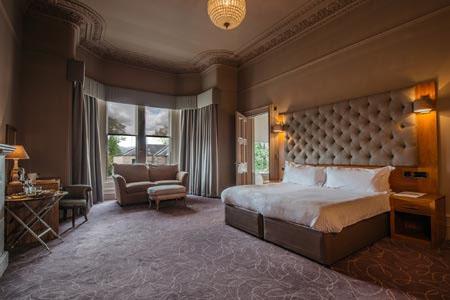 Murrayfield Hotel Bedroom